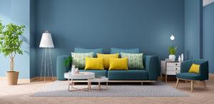 Ideias e inspirações para usar diferentes tons de azul em qualquer ambiente