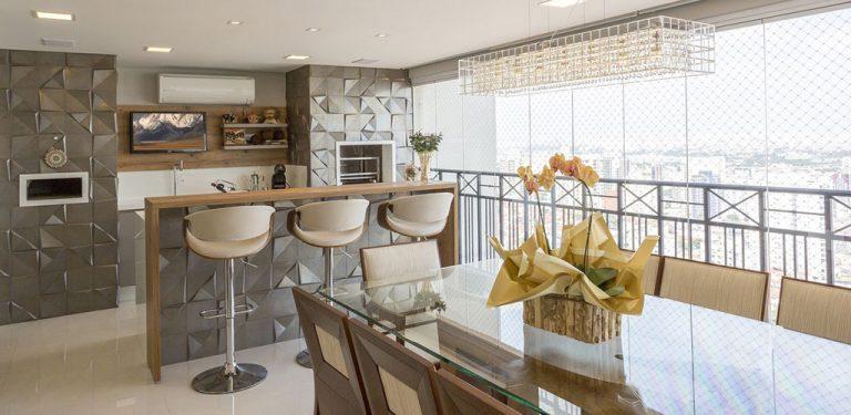 Por que ter uma varanda gourmet no seu apartamento?