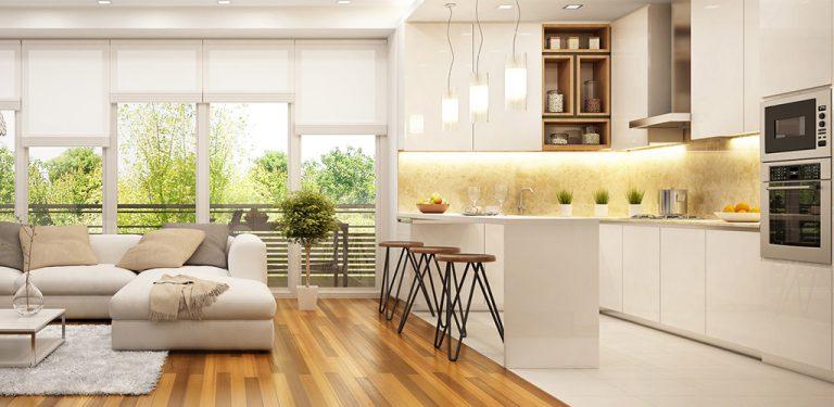 Ambientes integrados: Como a decoração ajuda a delimitar os espaços