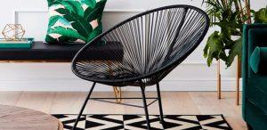 Conheça a Cadeira Acapulco e como usá-la na sua decoração