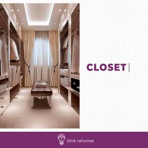 5 ideias de Closet pequeno para apartamento
